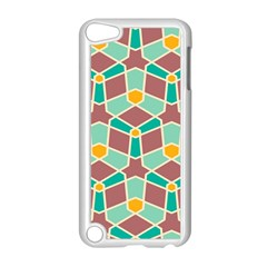 Stars And Other Shapes Pattern			apple Ipod Touch 5 Case (white) by LalyLauraFLM