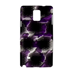 Fading Holes			samsung Galaxy Note 4 Hardshell Case by LalyLauraFLM