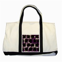 Fading Holes			two Tone Tote Bag by LalyLauraFLM