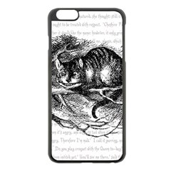 Cheshire Cat Apple Iphone 6 Plus/6s Plus Black Enamel Case
