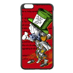 The Mad Hatter Apple Iphone 6 Plus/6s Plus Black Enamel Case