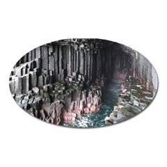 Fingals Cave Oval Magnet by trendistuff