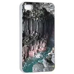 Fingals Cave Apple Iphone 4/4s Seamless Case (white) by trendistuff