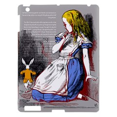Alice In Wonderland Apple Ipad 3/4 Hardshell Case by waywardmuse