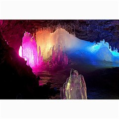 Cave In Iceland Collage 12  X 18  by trendistuff
