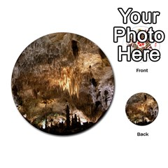 Carlsbad Caverns Multi Purpose Cards (round)  by trendistuff