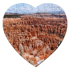 Bryce Canyon Amp Jigsaw Puzzle (heart) by trendistuff