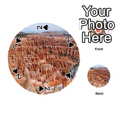 Bryce Canyon Amp Playing Cards 54 (round)  by trendistuff