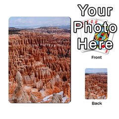 Bryce Canyon Amp Multi Purpose Cards (rectangle)