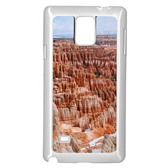 Bryce Canyon Amp Samsung Galaxy Note 4 Case (white) by trendistuff
