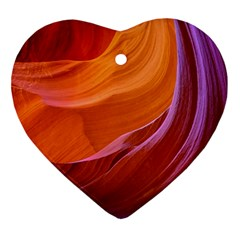 Antelope Canyon 2m Ornament (heart)  by trendistuff