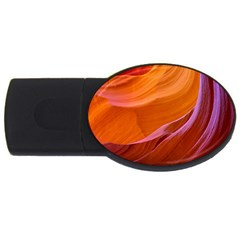 Antelope Canyon 2m Usb Flash Drive Oval (2 Gb)  by trendistuff