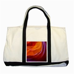 Antelope Canyon 2m Two Tone Tote Bag  by trendistuff