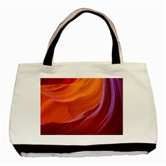 Antelope Canyon 2m Basic Tote Bag (two Sides)  by trendistuff