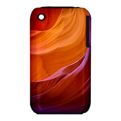 Antelope Canyon 2m Apple Iphone 3g/3gs Hardshell Case (pc+silicone) by trendistuff