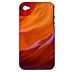Antelope Canyon 2m Apple Iphone 4/4s Hardshell Case (pc+silicone) by trendistuff