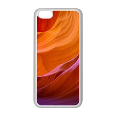 Antelope Canyon 2m Apple Iphone 5c Seamless Case (white) by trendistuff