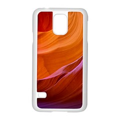 Antelope Canyon 2m Samsung Galaxy S5 Case (white) by trendistuff