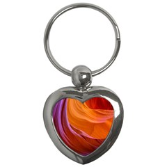 Antelope Canyon 2 Key Chains (heart)  by trendistuff