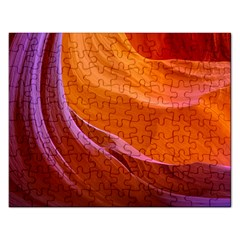Antelope Canyon 2 Rectangular Jigsaw Puzzl by trendistuff