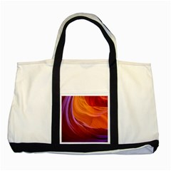 Antelope Canyon 2 Two Tone Tote Bag  by trendistuff