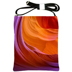 Antelope Canyon 2 Shoulder Sling Bags by trendistuff