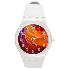 Antelope Canyon 2 Round Plastic Sport Watch (m) by trendistuff
