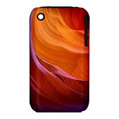 Antelope Canyon 2 Apple Iphone 3g/3gs Hardshell Case (pc+silicone) by trendistuff