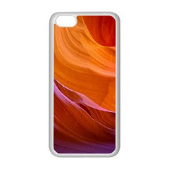 Antelope Canyon 2 Apple Iphone 5c Seamless Case (white) by trendistuff
