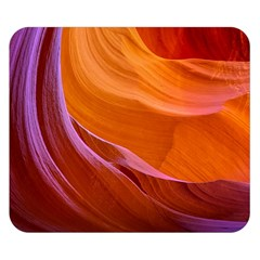 Antelope Canyon 2 Double Sided Flano Blanket (small)  by trendistuff