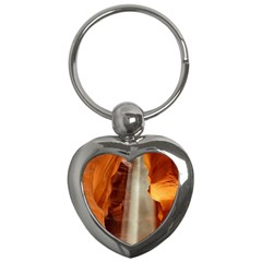 Antelope Canyon 1 Key Chains (heart)  by trendistuff