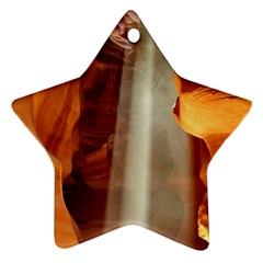 Antelope Canyon 1 Star Ornament (two Sides)  by trendistuff