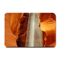 Antelope Canyon 1 Small Doormat  by trendistuff