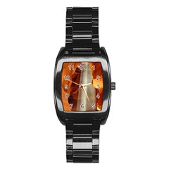 Antelope Canyon 1 Stainless Steel Barrel Watch by trendistuff