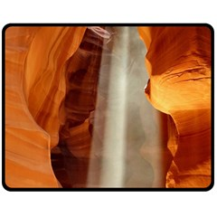 Antelope Canyon 1 Double Sided Fleece Blanket (medium)  by trendistuff