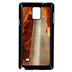 Antelope Canyon 1 Samsung Galaxy Note 4 Case (black) by trendistuff