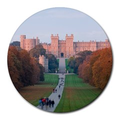 Windsor Castle Round Mousepads by trendistuff