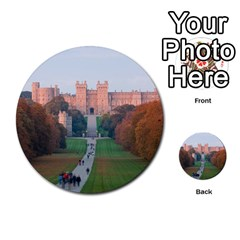 Windsor Castle Multi Purpose Cards (round)  by trendistuff