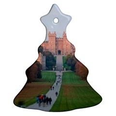 Windsor Castle Christmas Tree Ornament (2 Sides) by trendistuff