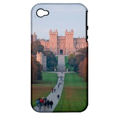 Windsor Castle Apple Iphone 4/4s Hardshell Case (pc+silicone) by trendistuff
