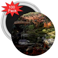 Wakayama Garden 3  Magnets (100 Pack) by trendistuff