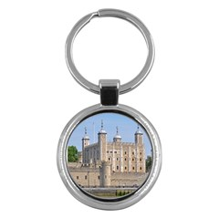 Tower Of London 2 Key Chains (round)  by trendistuff
