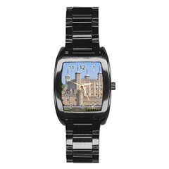 Tower Of London 2 Stainless Steel Barrel Watch