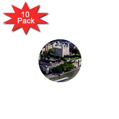 Tower Of London 1 1  Mini Buttons (10 Pack)  by trendistuff