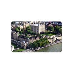 Tower Of London 1 Magnet (name Card) by trendistuff