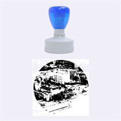 Tower Of London 1 Rubber Round Stamps (medium) by trendistuff