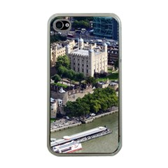 Tower Of London 1 Apple Iphone 4 Case (clear) by trendistuff