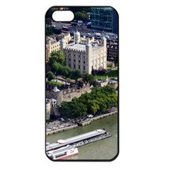 Tower Of London 1 Apple Iphone 5 Seamless Case (black) by trendistuff
