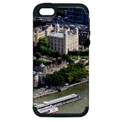 Tower Of London 1 Apple Iphone 5 Hardshell Case (pc+silicone) by trendistuff