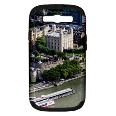 Tower Of London 1 Samsung Galaxy S Iii Hardshell Case (pc+silicone) by trendistuff